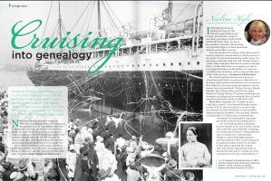 Cruising into Genealogy
