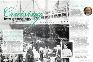 Cruising into Genealogy