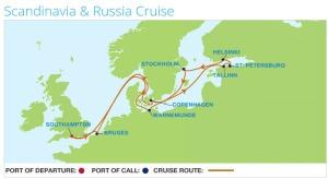 Saturday 11 July 2015 to Saturday 25 July 2015 Baltic Cruise