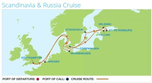 Saturday 11 July 2015 to Saturday 25 July 2015 Baltic Cruise